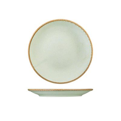 SEASONS STONE ROUND COUPE PLATE 280MM S187628ST