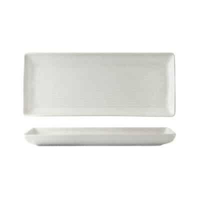 ZUMA SHARE PLATTER 335x140MM FROST 90082(12/6)