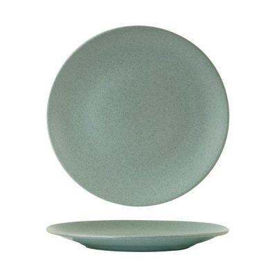 ZUMA MINT GREEN COUPE PLATE non ribbed 265mm(18/6)