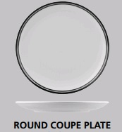 NANO CRU COUPE PLATE BLACK 210MM NPR21-BK