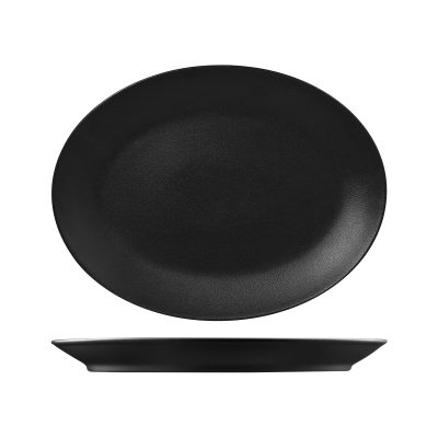 NEO FUSION VOLCANO OVAL COUPE  PLATE  360X270MM