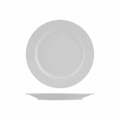 INCAFE 227mm Plate Round Wide Rim [4/24]
