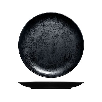 RAK KARBON FLAT COUPE PLATE 270MM BLACK