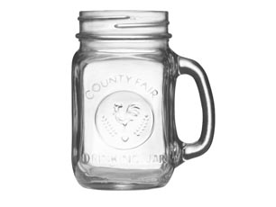 LIBBEY DRINKING JAR 488ML EMBOSSED