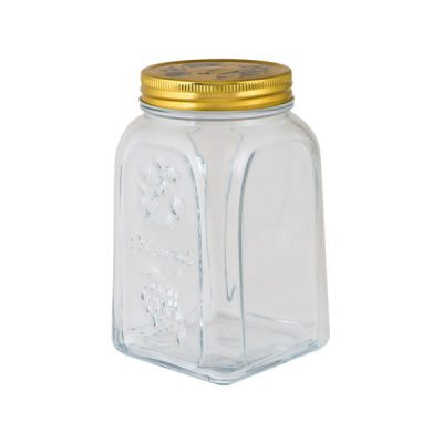 PASABAHCE HOMEMADE JAR WITH LID 1L