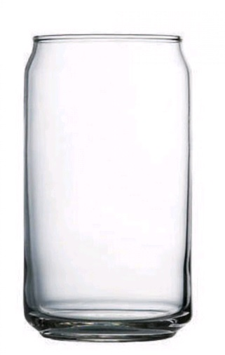 LIBBEY BEER CAN SHAPED GLASS 473ml LB209CD (24/ctn
