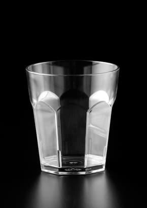 Polycarb Panelled Whisky Glass 230ml/8oz GW082448C