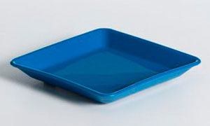 KH SQ PLATE 140mm BLUE [23]