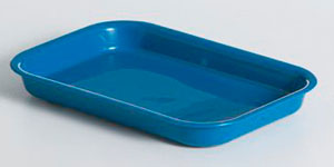 KH RECTANGLE TRAY 200×135 BLUE [25]