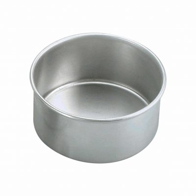 CAKE PAN-ALUM ROUND 200x75mm 66392