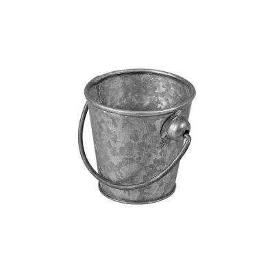MODA MINI BUCKET GALVANISED 110MM