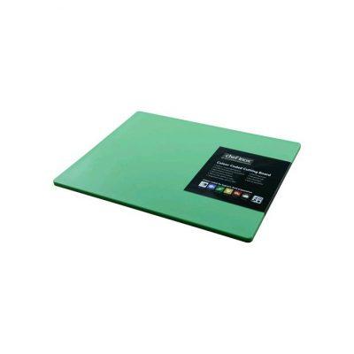 CUTTING BOARD GREEN 300x450x12