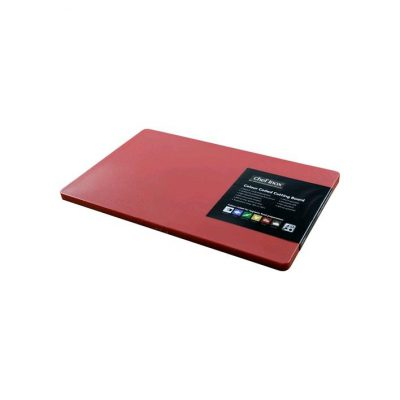CUTTING BOARD RED   300X450X13