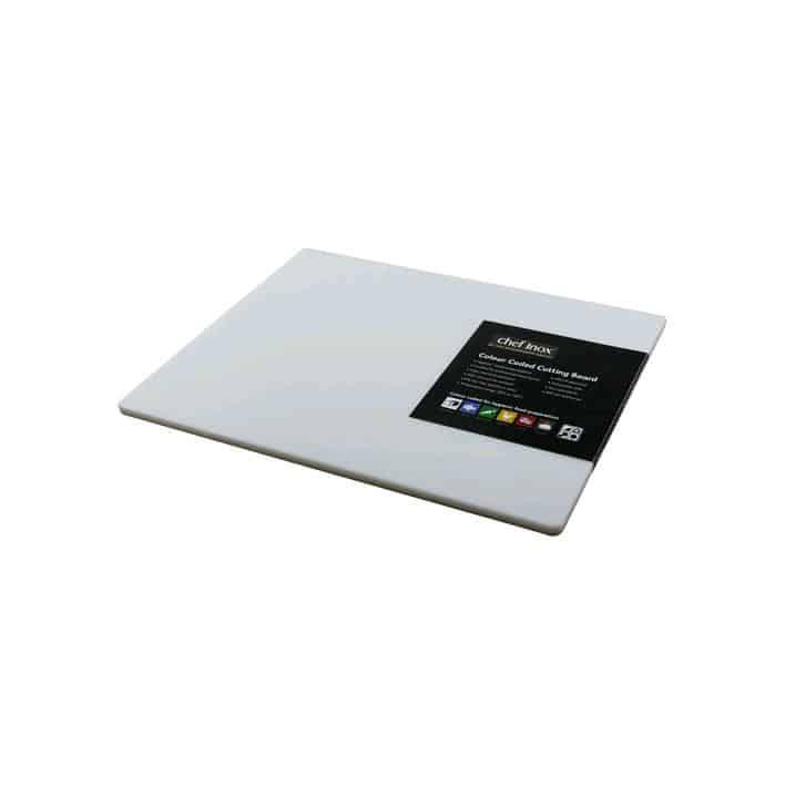 Chef Inox Cutting Board - Pp Gn 1/1 530x325x20mm White