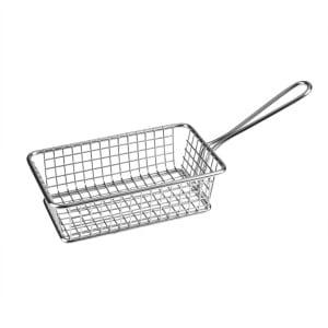 Service Basket S/S Rect 160x102x50