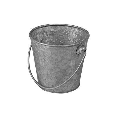 MODA MINI BUCKET GALVANISED 150MM