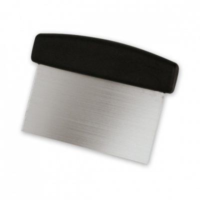 DOUGH SCRAPER/ CHOPPER 50x75mm Blade/ 175mm L, Black Handle