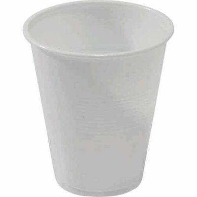 CAPRI CUP PLASTIC WHITE 200ML (1000pcs)