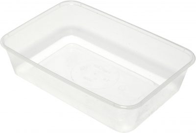 Takeaway Container Clear Rectangle 750ml [500pcs]