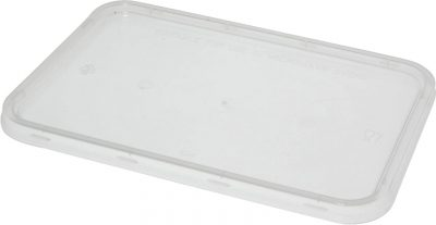 Takeaway Container LID Only Clear 175×120 [500pcs]