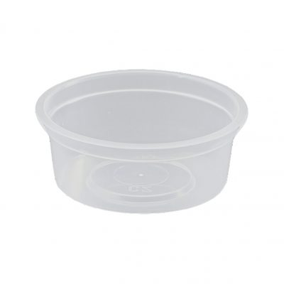 Takeaway Container Round 100ML [1000pcs]
