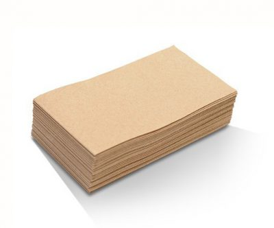 KRAFT BROWN NAPKINS Quilted GT FOLD (1000pcs) #6401