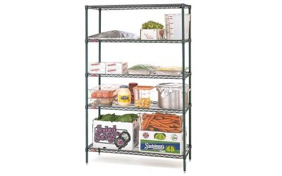 METRO SHELVING 4 TIER 1830x355mm