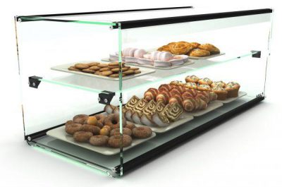 AMBIENT DISPLAY SAYL 2 TIER 920X360X360 24KG