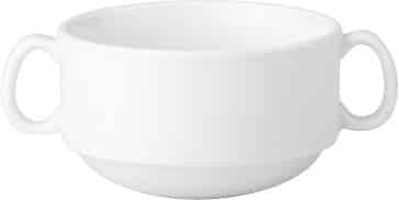 MAXIM SOUP CUP 2XHNDL STACK 94211