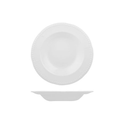 CHURCHILL CONTEMPO PASTA PLATE-DEEP, 230mm/227ml