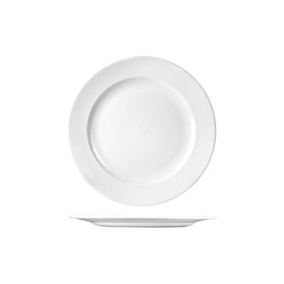 CHURCHILL CLASSIC ROUND PLATE-WIDE RIM, 254mm
