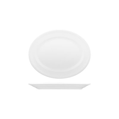 CHURCHILL BUCKINGHAM OVAL PLATE-203mm
