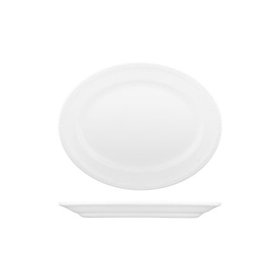 CHURCHILL BUCKINGHAM OVAL PLATE-254mm