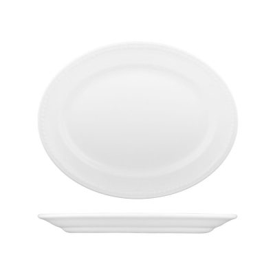 CHURCHILL BUCKINGHAM OVAL PLATE-305mm