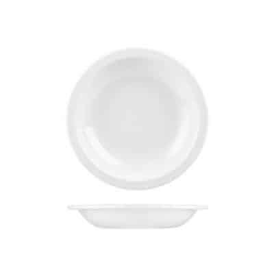 CHURCHILL NOVA RIMMED SOUP PLATE-210mm/490ml