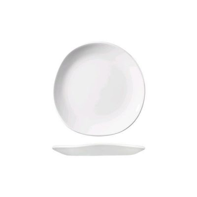 CHURCHILL TRACE WHITE PLATE 186MM