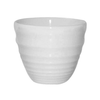 CHURCHILL RIPPLE CHIP MUG WHITE 95X85MM (9951021)
