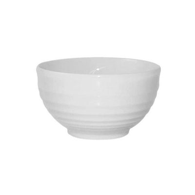 CHURCHILL RIPPLE BOWL WHITE 104X49MM (9952001)