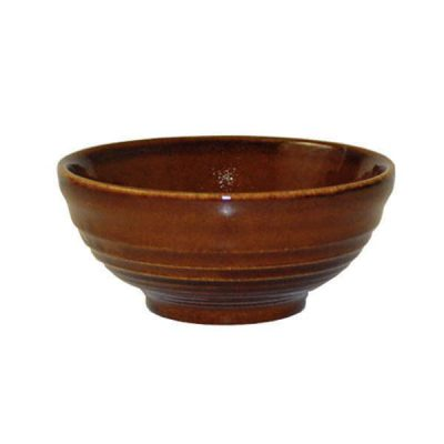 CHURCHILL RIPPLE BOWL CINNAMON 104X49MM (9952022)