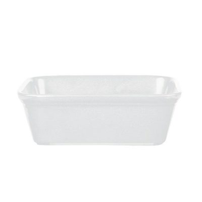 CHURCHILL COOKWARE DISH-WHITE, 160x120mm/600ml