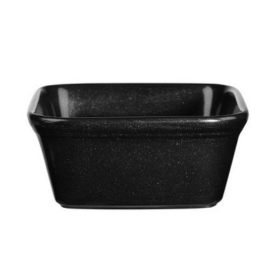 CHURCHILL COOKWARE DISH-BLACK, 120x120mm/450ml