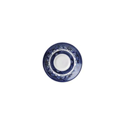 CHURCHILL VINTAGE PRINTS SAUCER WILLOW BLUE