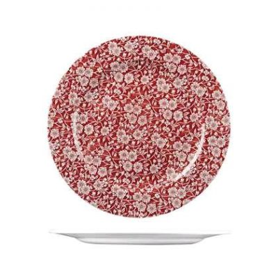CHURCHILL VINTAGE PRINTS PLATE CRANBERRY(VC),305mm
