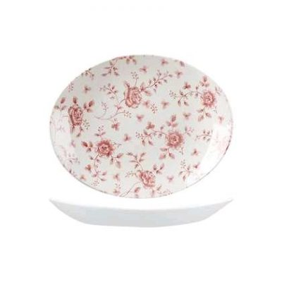 CHURCHILL VINTAGE PRINTS PLATE CRANBERRY(RC)317mm