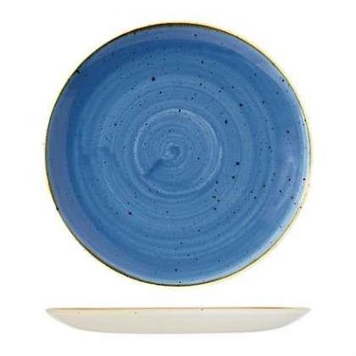 CHURCHILL STONECAST ROUND PLATE-COUPE(CB), 165mm