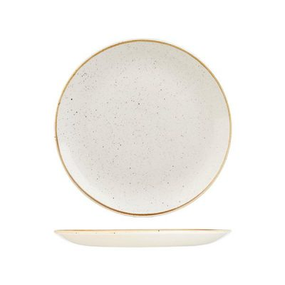 CHURCHILL BARLEY WHITE ROUND PLATE 260MM