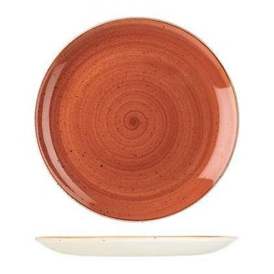 CHURCHILL STONECAST PLATE-COUPE, 288mm, SPICED