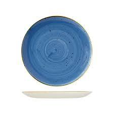 CHURCHILL STONECAST ROUND PLATE-COUPE(CB), 324mm