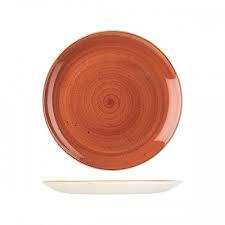 CHURCHILL STONECAST PLATE-COUPE, 324mm, SPICED