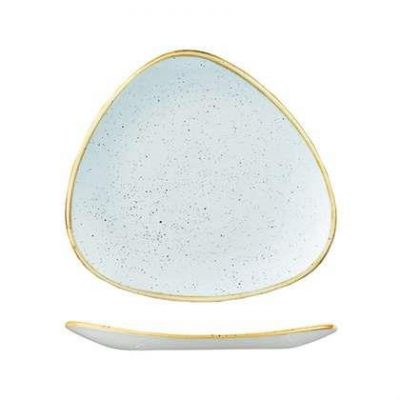 CHURCHILL STONECAST TRIANGULAR 260mm, DUCK EGG